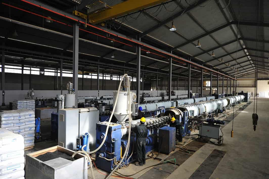 WD Pipes Factory