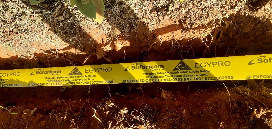 Safaricom Fiber Rollout and Maintenance
