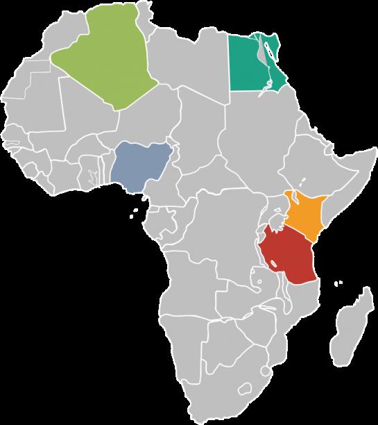 map egypro